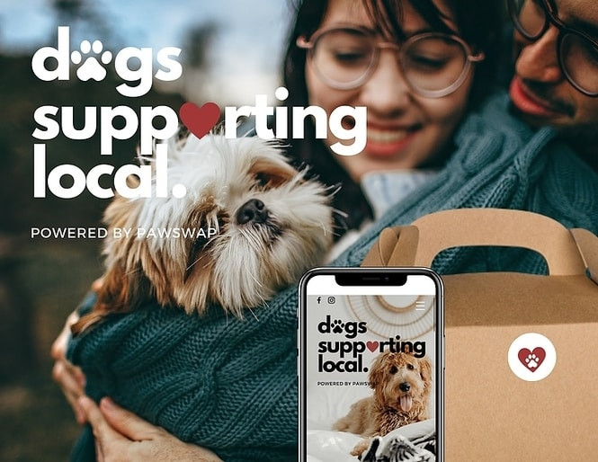 Dogs Supporting Local by PawSwap