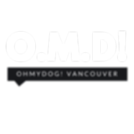 Oh My Dog Vancouver's Online Dog Publication logo