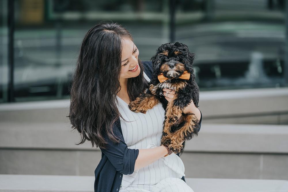 Kimberly proud of adopting her dog over having kids