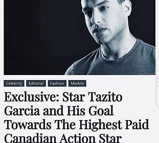 #tazitogarcia #nextactionhero #raiallenmagaine