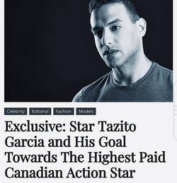 Actor | Tazito Garcia | Canada Top 10 actors, Toronto Actors, Los Angeles Actors,jackie chan, taz ga