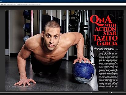 Taz Garcia feature in FSI Magazine