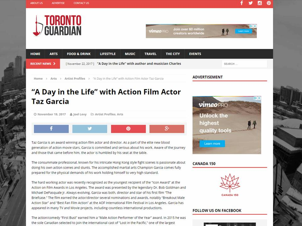 Actor | Tazito Garcia | Canada Top 10 actors, Toronto Actors, Los Angeles Actors,jackie chan, #tazit