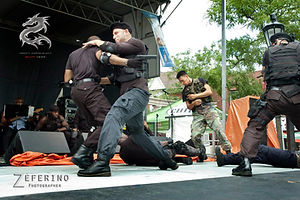 #tazitogarcia doing #actionscene #stunts during #expendables #expendables2 #film #liveshow