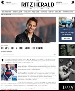 Actor | Tazito Garcia | Canada Top 10 actors, #tazitogarcia interview with The Ritz Herald