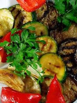 Seasoned Grilled Vegetables