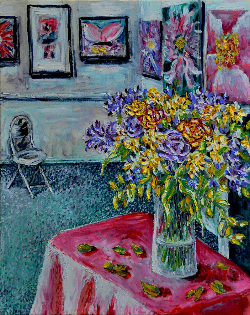 Gallery Bouquet $700, 18 x 24 Oil on Canvas