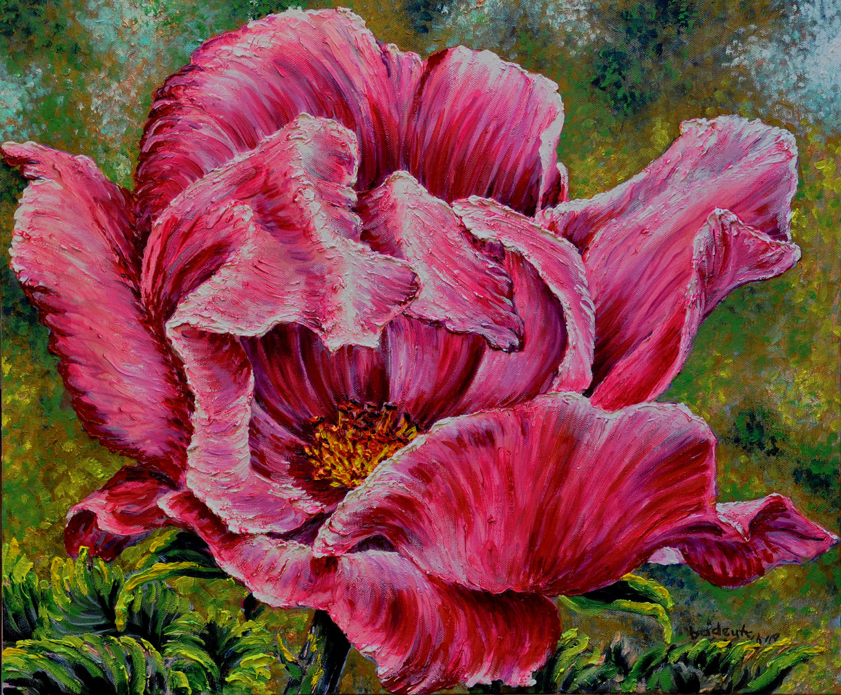 Rose 2019 $450, 16 x 20 Oil on Canvas