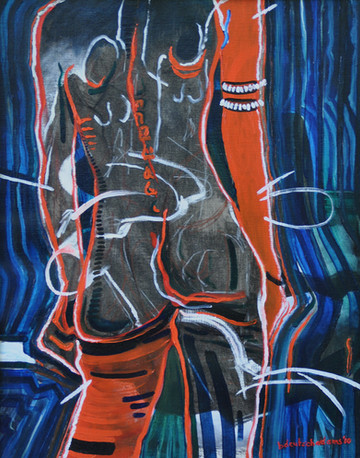 In Pain $450 Oil on Canvas 16 x 20 in.