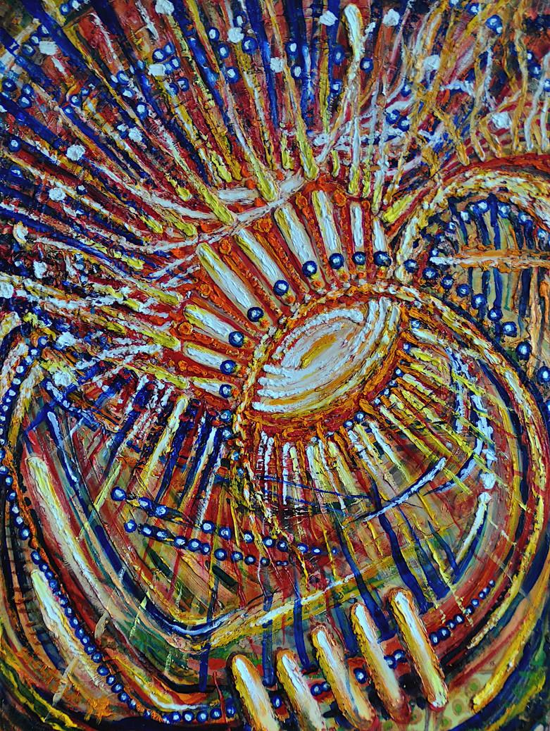 Soul Flower $700 Oil on Board 18 x 24 in.