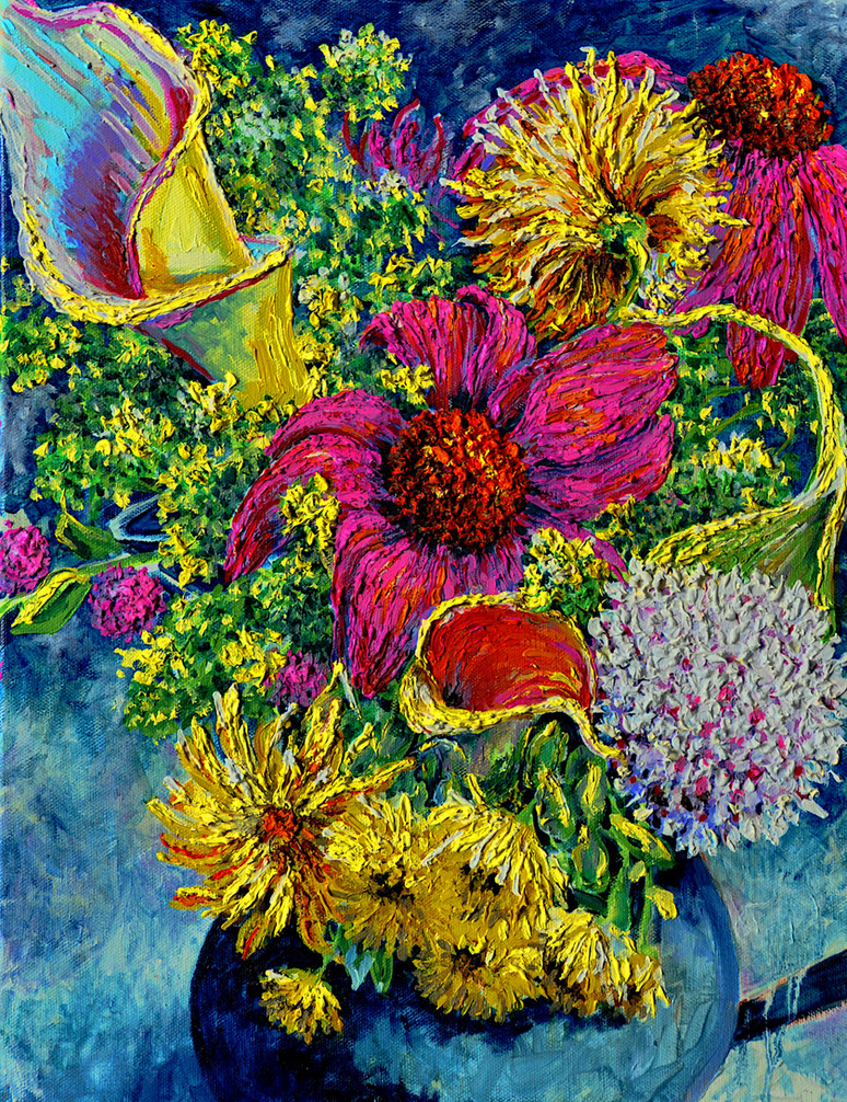 Early Summer Bouquet $400 Oil on Canvas