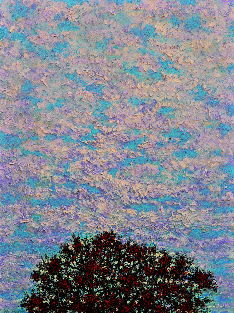 Tree and Sky $700, 18 x 24 Oil on Canvas