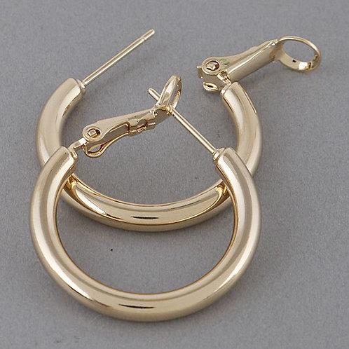 Jessie Mini Hoops - Gold
