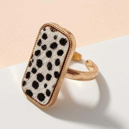 Karli Leather Ring