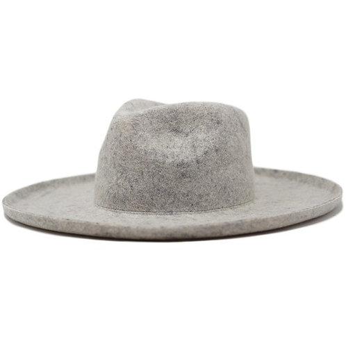 LENNY Wool Panama Hat - Heather Ash