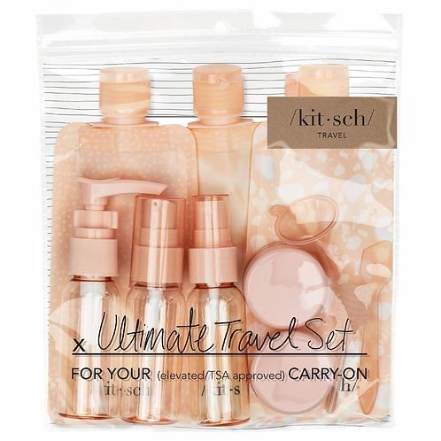 Refillable Ultimate Travel 11pc Set - Blush