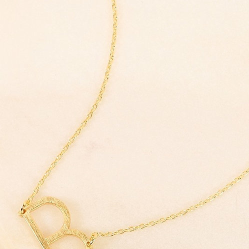 Bliss Initial Necklace