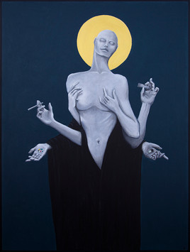 Sinners_Make_The_Best_Saints_Acrylic_on_
