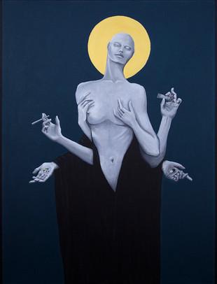Sinners_Make_The_Best_Saints_Acrylic_on_