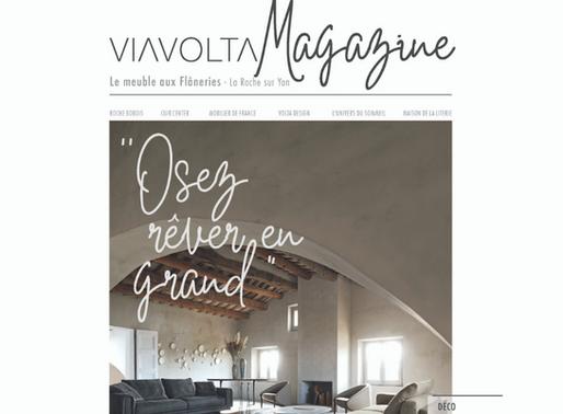 VIAVOLTA, c'est aussi un magazine !