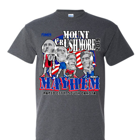 RMN MOUNT RUSHMORE MAYHEM 2019 CHARCOAL
