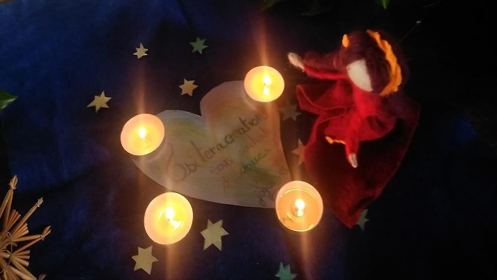 Merci à tous ceux qui ont soutenu mon activité, qui ce sont intéressés, émerveillés et plus largement merci à tous les créatifs pour leur art, les soigneurs pour leur dons, les écologistes et tous ceux qui oeuvrent pour un monde, plus juste, plus beau, plus doux, plus merveilleux, plus équilibré...Joyeux et doux Noël à vous