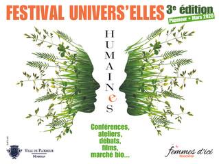 Ositeracreations participera à la troixième édition du festival Univers'elles à Ploemeur (56) le