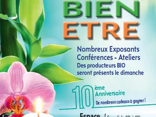 Exposition et vente au Salon du bien-être de Domfront sur Sarthe  (72) 25 et 26 Janvier
