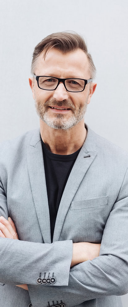 Middle aged hair regrowth specialist with glasses - DFW Youth Secret Hair Regrowth Memberships
