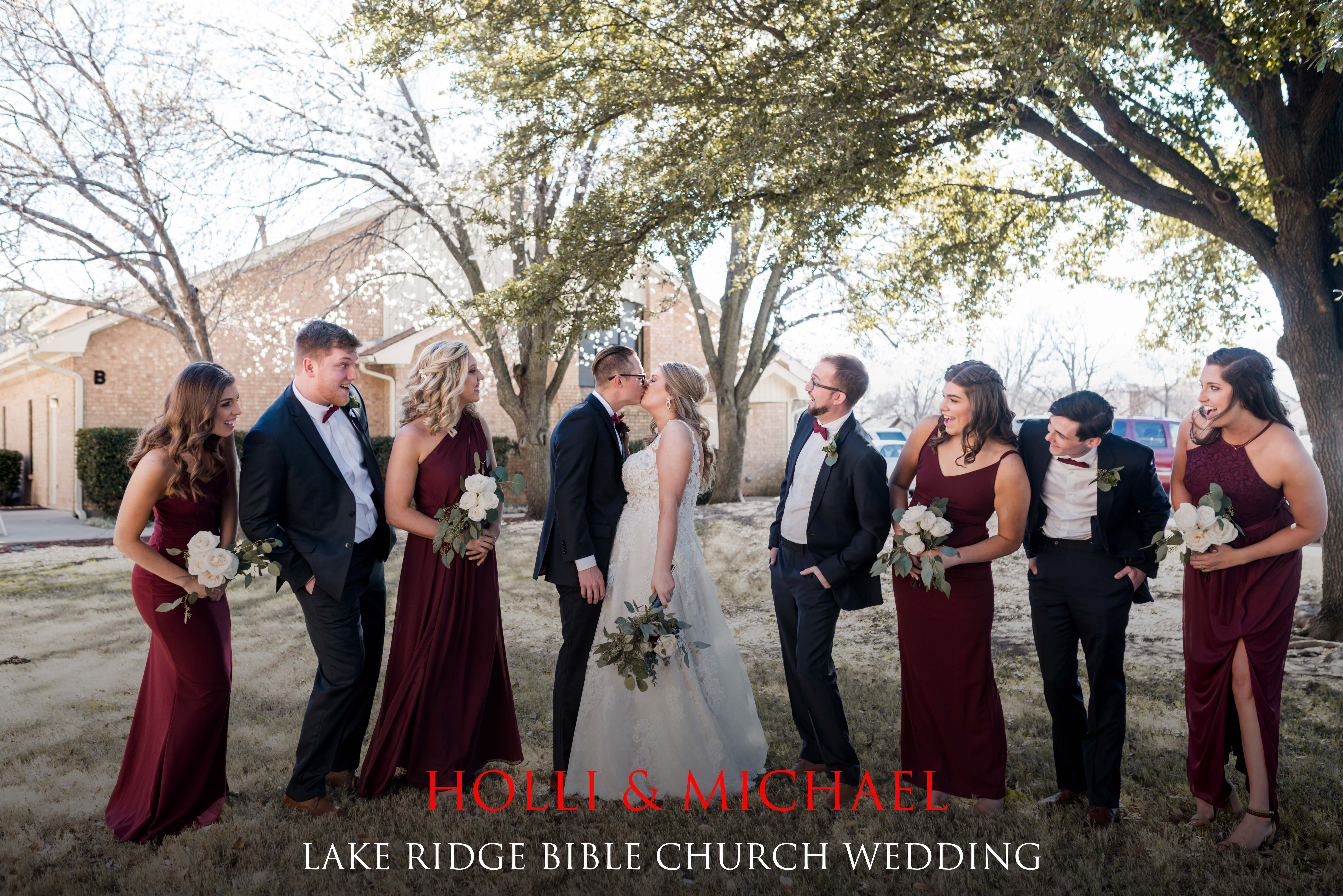 Lake Ridge Bible Church Wedding