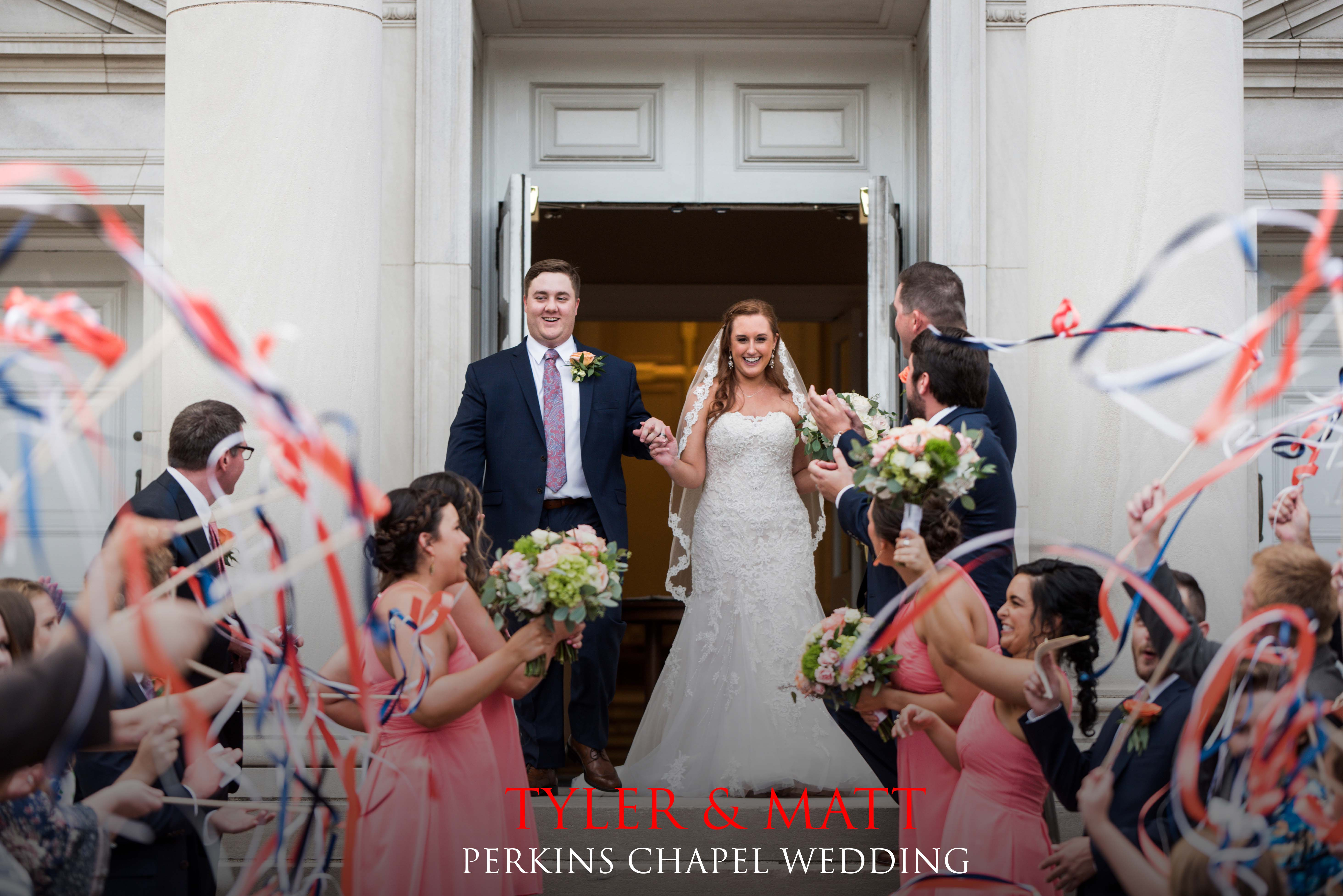 Perkins Chapel Wedding