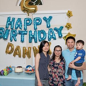 Danny's 2nd Birthday