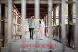 Japanese Garden Engagement