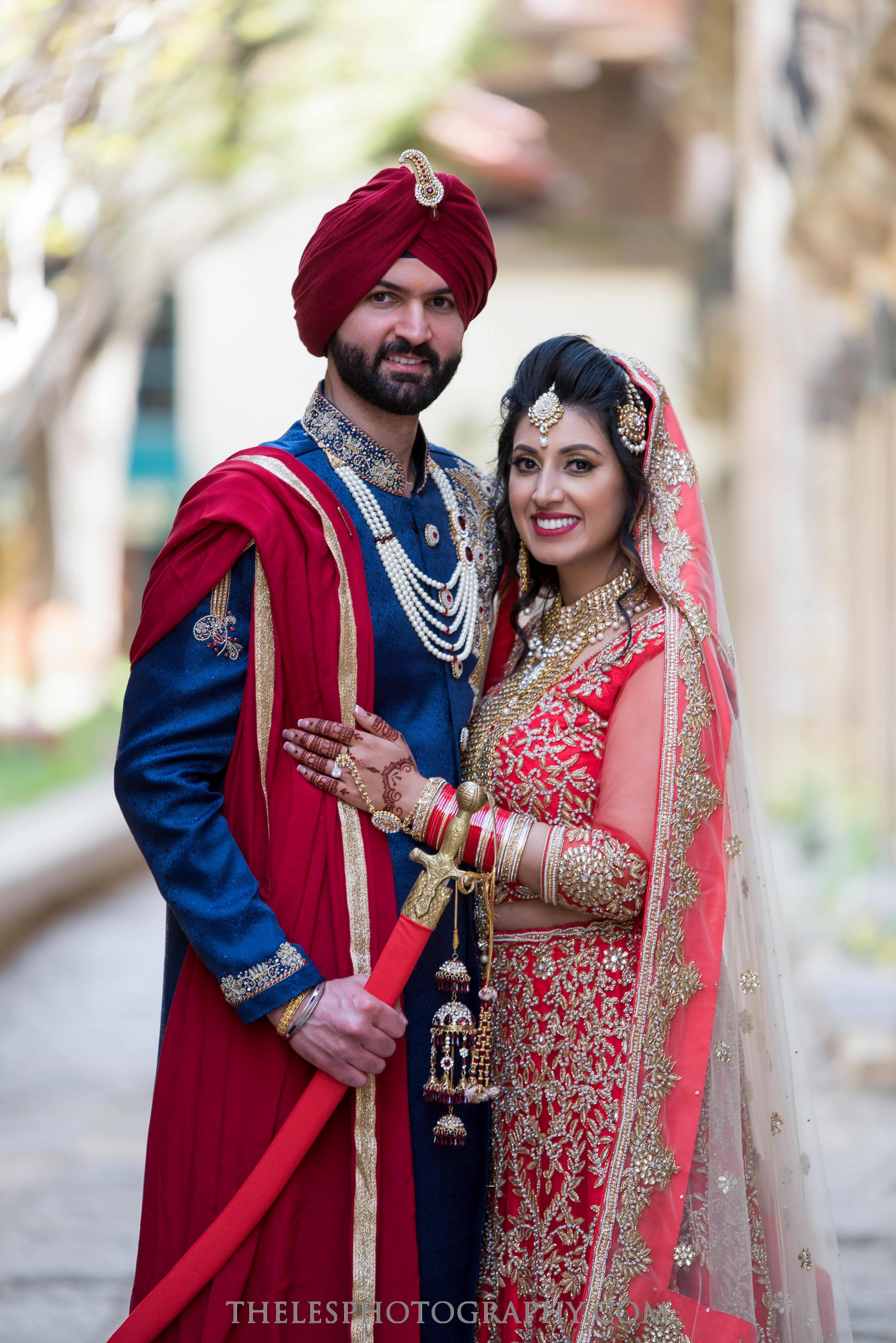 The Les Photography - Punjabi Wedding - Sikh Indian Wedding - Dallas Wedding Photographer 40