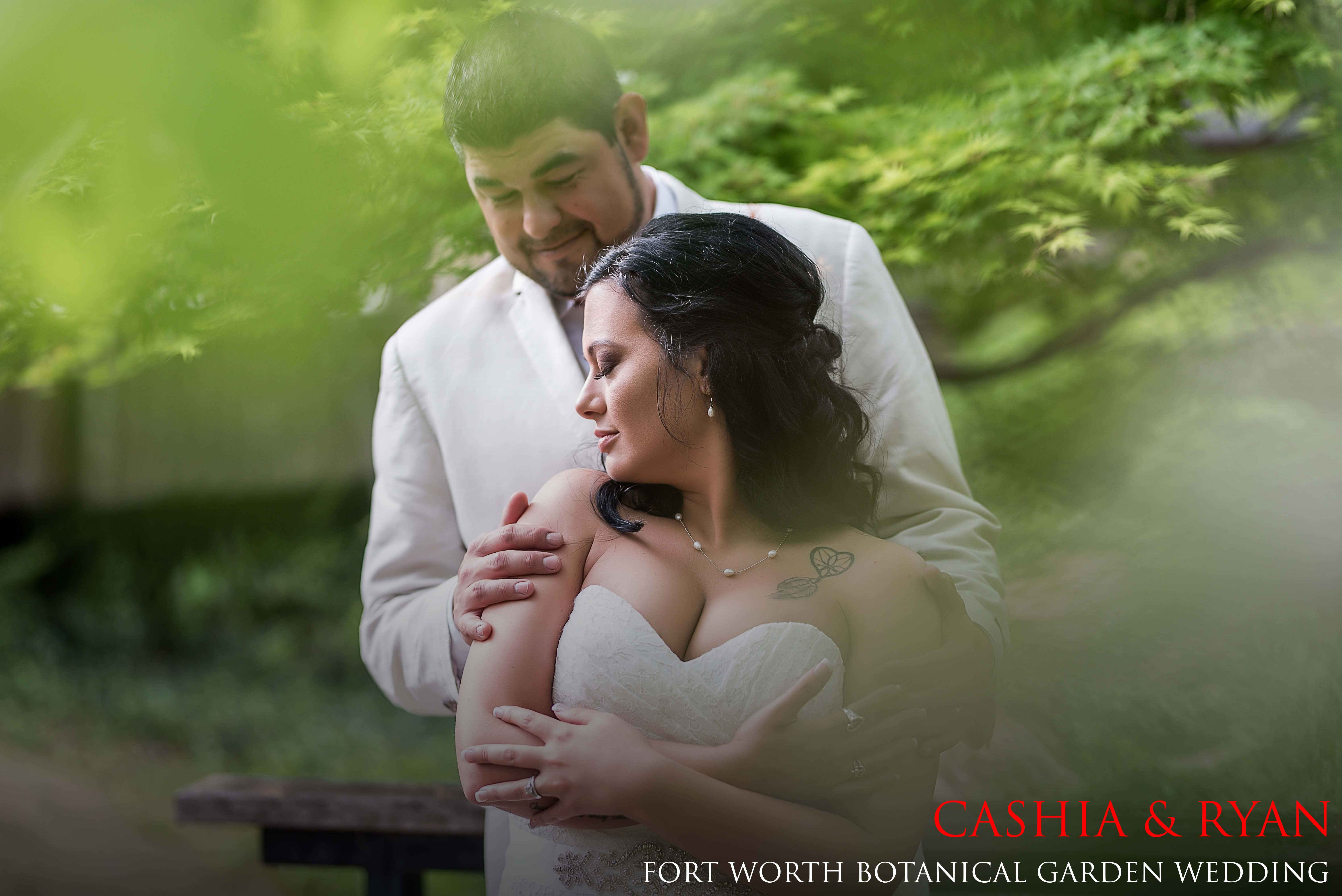 Fort Worth Botanical Garden Wedding