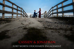Fort Worth Stockyards Engagement