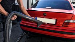 drying car