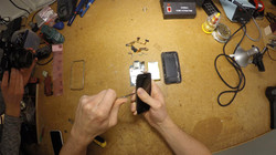 E-waste dismantling trial