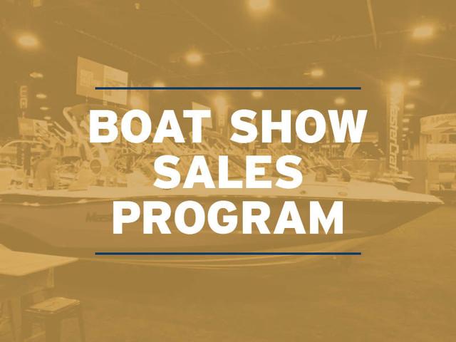 Boat Show Sales Program