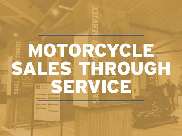 Motorcycle Sales Through Service