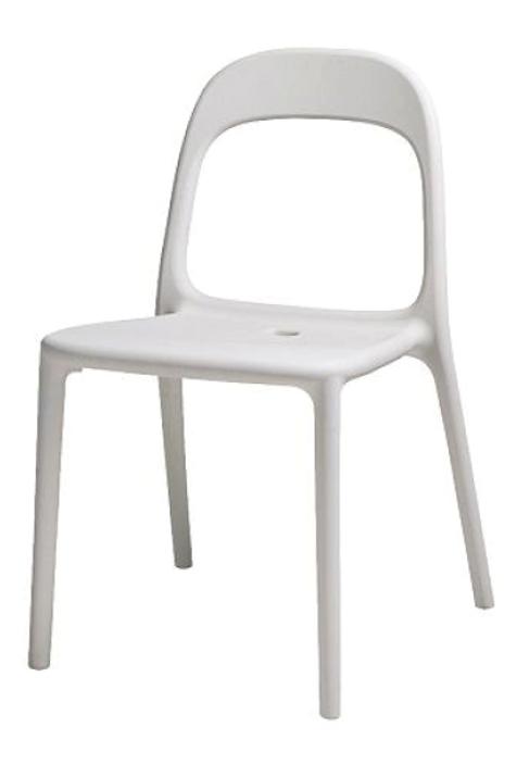 Stol, hvid / chair, white