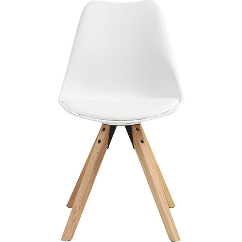 Chat stol, hvid / Chat chair, white