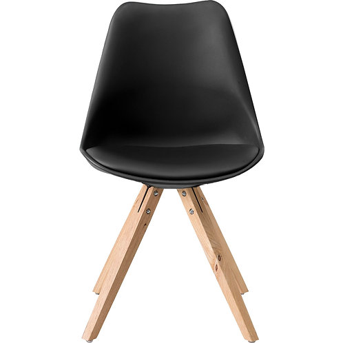 Chat stol, sort / Chat chair, black