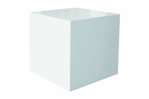 Kube sidebord, hvid / Cube, side table, white