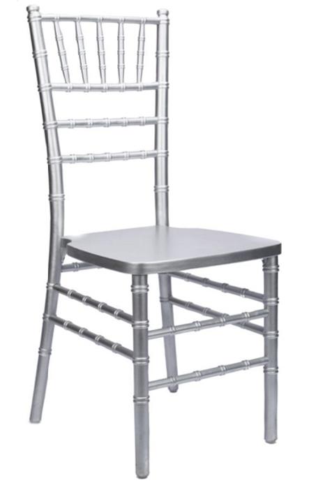 Chiavari stol, sølv / Chiavari chair, silver