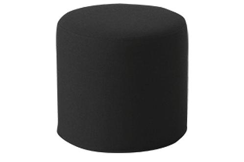 Drum puf, grå / Drum pouf, grey