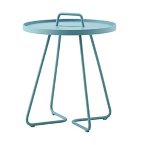On-the-move sidebord, aqua / On-the-move side table, aqua