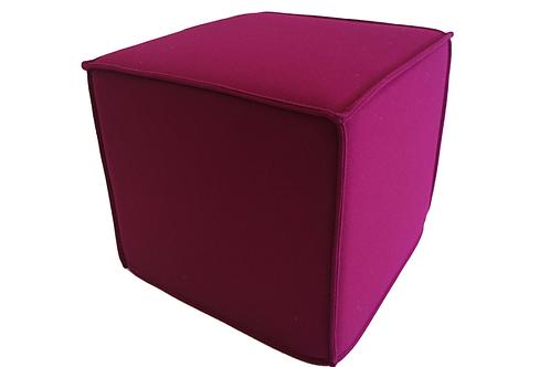 Space puf, violet / Space pouf violet