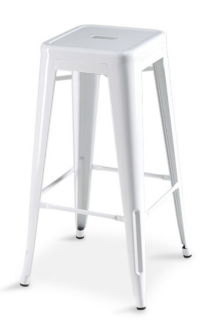 Korona barstol, hvid / Korona bar stool, white