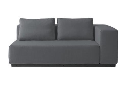 Softline Nevada sofa, grå / Softine Nevada couch, grey